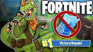 NO BUILDING CHALLENGE! (INSANELY HARD) - Fortnite Battle Royale