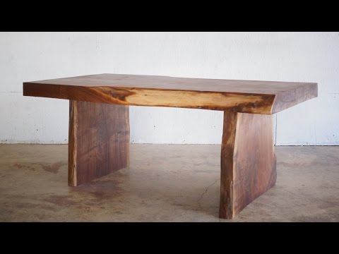 DIY Live Edge Slab Coffee Table | Modern Builds | EP. 23