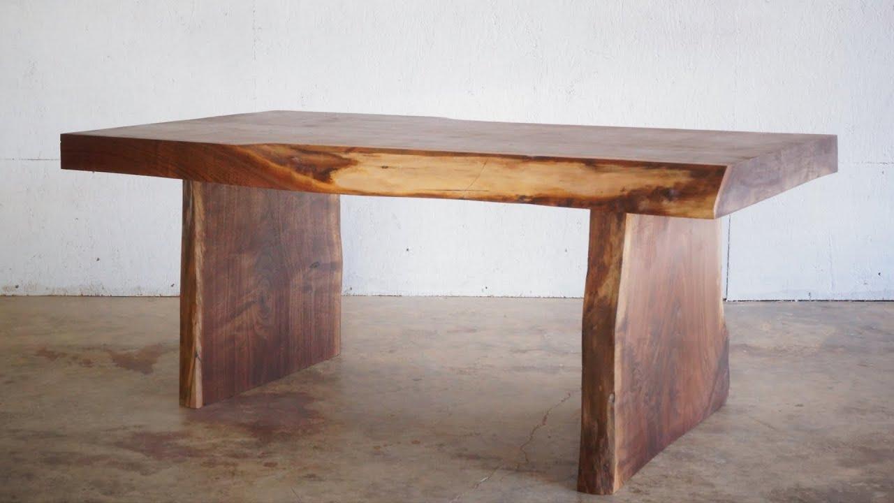 diy live edge slab coffee table modern builds ep 23