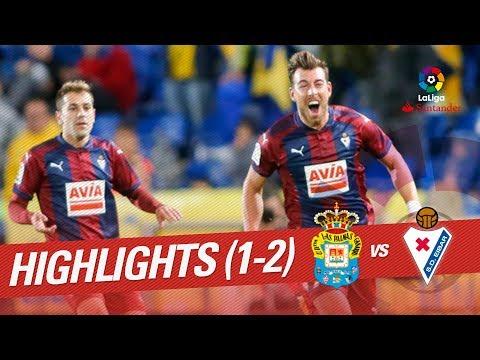 Resumen de UD Las Palmas vs SD Eibar (1-2)