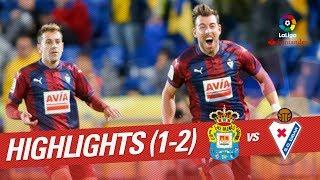 Resumen de UD Las Palmas vs SD Eibar 1-2