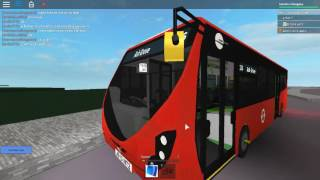 Roblox London Hackney & Limehouse bus Simulator Wright Streetlite (euro 6) TT Route 236 on Test