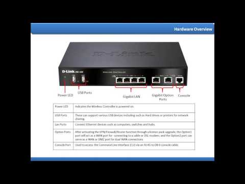 ▶ D Link   Unified Wireless for SMB presentation