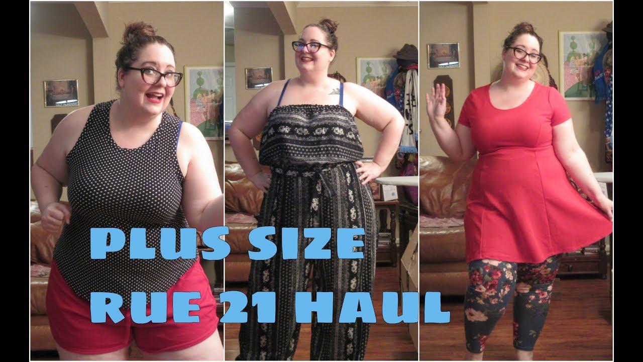 a7833d2ec7d0 Plus Size Rue 21 Haul - YouTube