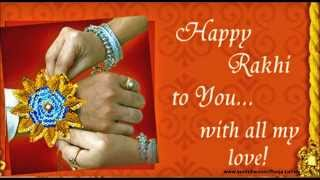 Happy Raksha Bandhan wishes, greetings, Whatsapp Message from brother to Sister