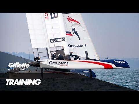 Training for the America's Cup with Groupama France  | Gillette World Sport
