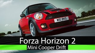 forza horizon 2 john works mini cooper fwd drift build