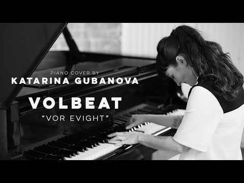Volbeat - For evigt - Metal piano cover karaoke - piano cover by Miss Key - lyrics video