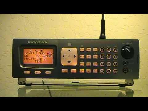 Radio Shack Pro 197 Digital Trunking Scanner