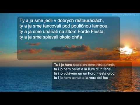 Manel - Al mar (preklad + text)