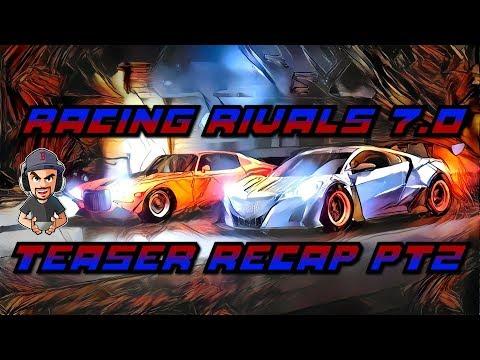 Racing Rivals 7.0 Teaser Recap