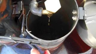 A cool way to make hot water!  An immersion heater