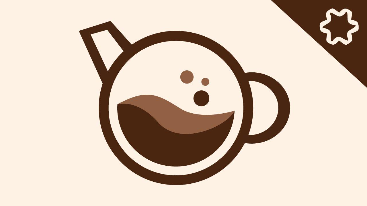 Logo Design illustrator - Cafe Coffee Shop Logo : Adobe ...