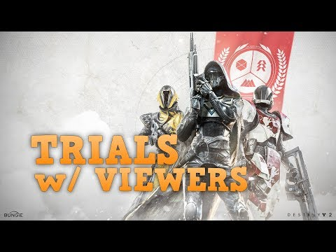 DESTINY 2 LIVESTREAM: Trials Of The Nine With Viewers (PS4 Pro)
