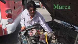 Maestro jubilado de Oaxaca crea su propio carro híbrido, movido por hidrogeno