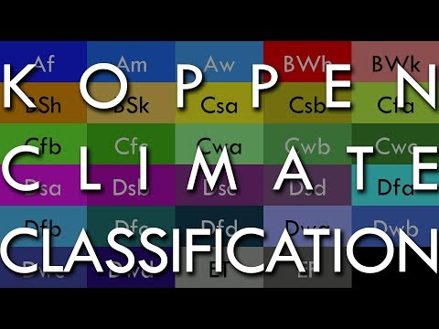 The Koppen-Geiger Climate Classification System - A Quick Guide