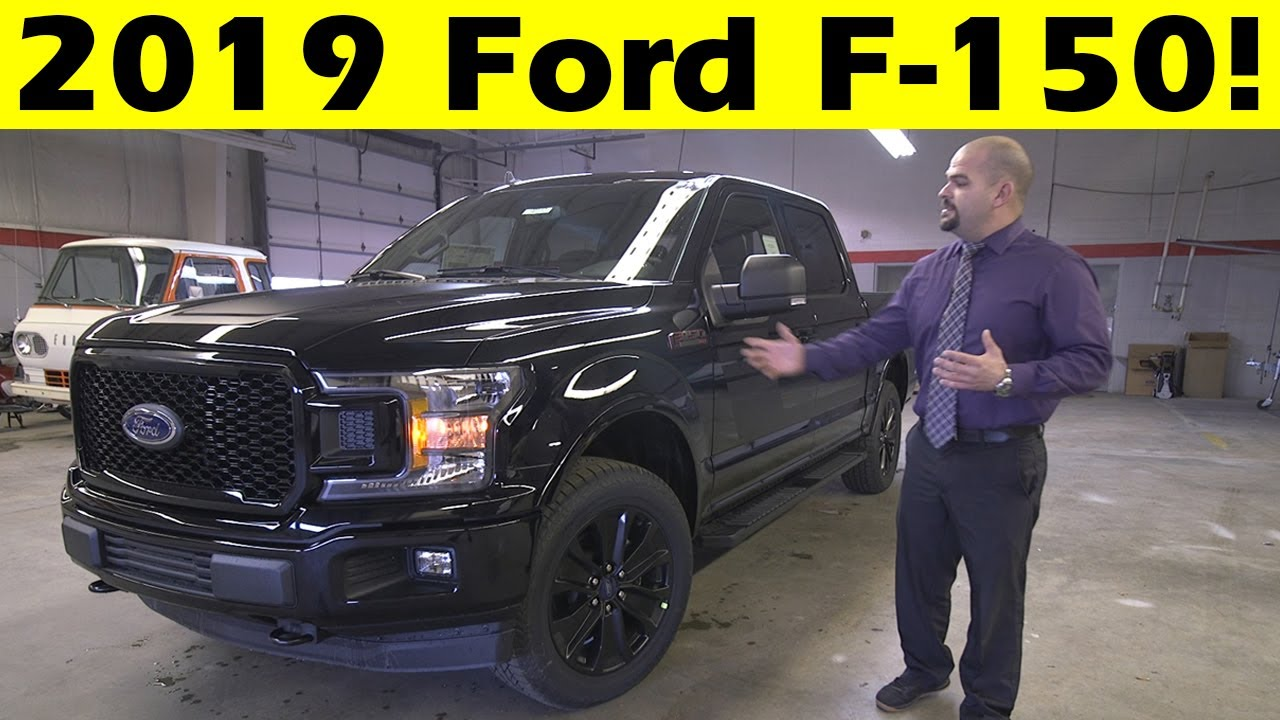 Ford F 150 Trim Levels >> 2019 Ford F150 Xlt Special Edition Exterior Interior Walkround
