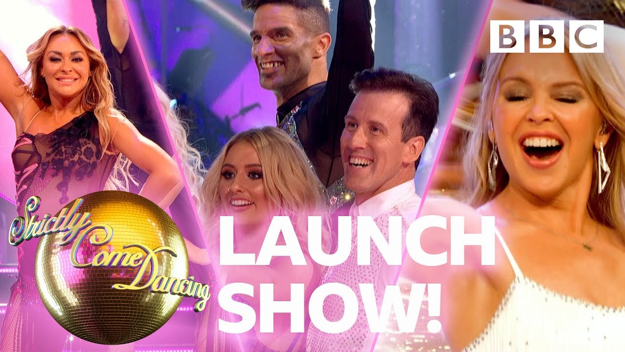 Strictly 2019 LAUNCH show dances! ✨