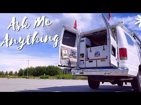 🔴 Parking Lot Chat With A VanDweller   How To Live In A Van Questions
