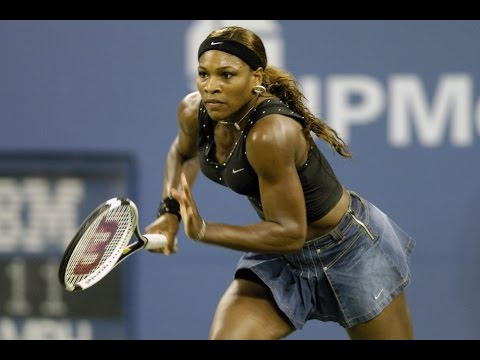 Jennifer Capriati VS Serena Williams Highlight US Open 2004 QF