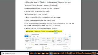 Fix error code 0x80070003 when updating Windows 10