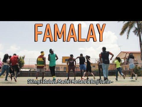 Skinny Fabulous, Machel Montano, Bunji Garlin - Famalay Official MYZTIKALZ Dance Video