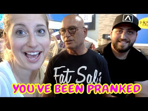 BROTHER AND SISTER PRANKING DAD -  HOWIE MANDEL