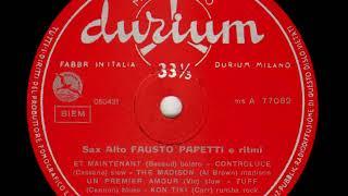 Fausto Papetti   Sax Alto e Ritmi n  3 07   Twist twist
