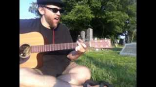 Big Empty-Stone Temple Pilots Cover(Acoustic)....in a graveyard