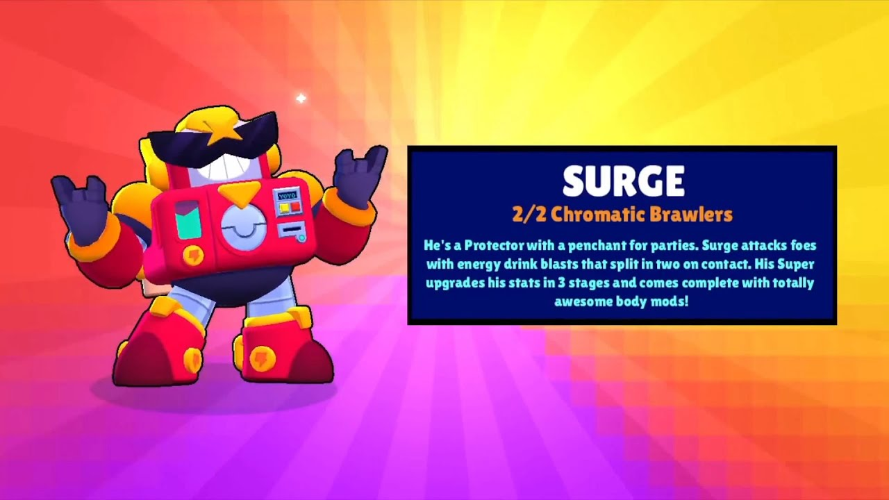 How to get Surge Brawl Stars?