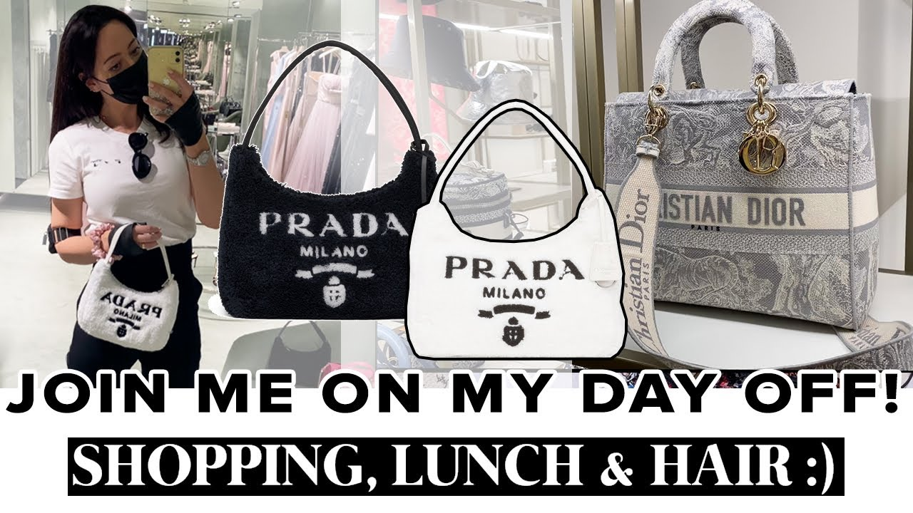 I took a badly needed day off! Come with me to PRADA, DIOR, CHANEL, HARRODS & EL&N Cafe