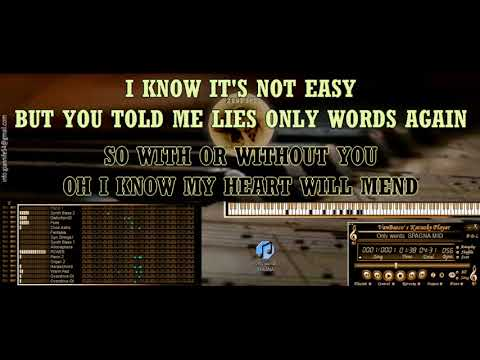 Only words  SPAGNA KARAOKE BASI MIDI DEMO SOUNDFONT