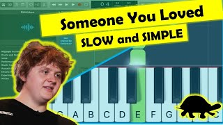 Download lagu lewis capaldi - someone you loved - piano tutorial - easy slow