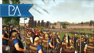hUGE COMPETITIVE SIEGE WITH ORGANIZED TEAMS! - 4v4 Siege battle - Total war: Rome 2