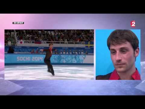 Brian Joubert trés ému pour la fin de sa carriére de patineur artistique 20140214
