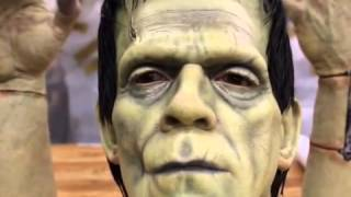 Life Size Frankenstein Watch the eyes move