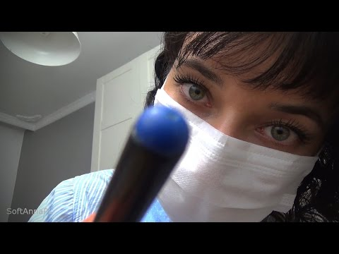 Binaural ASMR Examine Your Head l Sinus, Nose, Throat, Tonsils, Ears Exam in Polish