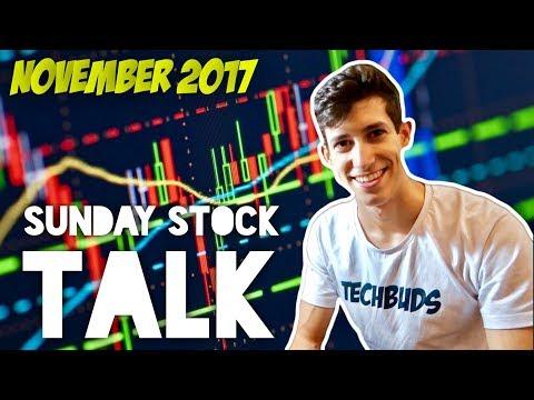 November 2017 Week 1 Top Stocks | Sunday Stock Talk