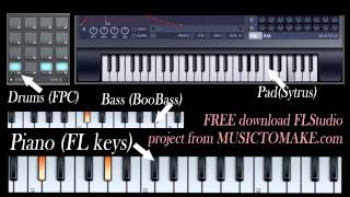 Elton John - Sacrifice ( how to play piano, instrumental). Free download FLP