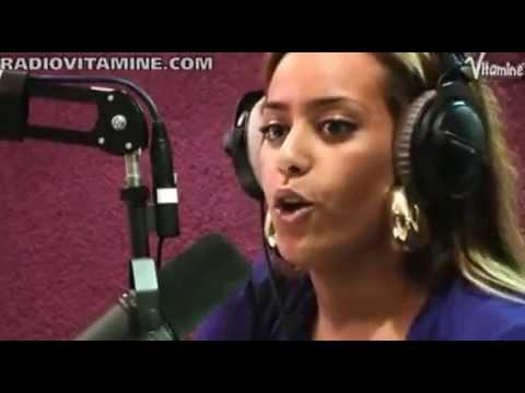 """Amel Bent Chante """"Où Je Vais"""" En Live Sur Radio Vitamine"""