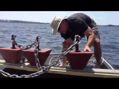 DIY 600lb Boat Mooring Installation part 1