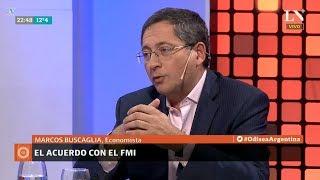 """📡 Buscaglia sobre """"El acuerdo con el FMI"""" en Odisea Argentina de Pagni - 11/06/18"""