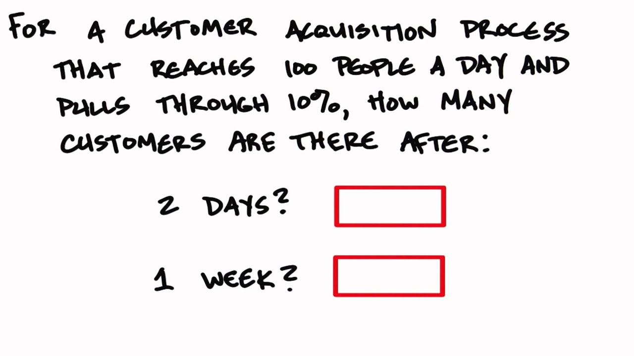 Customer Acquisition Quiz - How to Build a Startup
