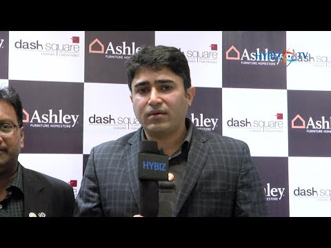 Amruth Sampige Managing Partner Dash Square | Now Ashley Furniture Home Store In Hyderabad