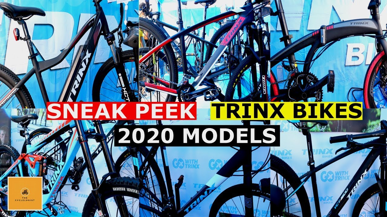 Quick Look At The Upcoming Trinx Bikes Models For 2020 Phil Bike