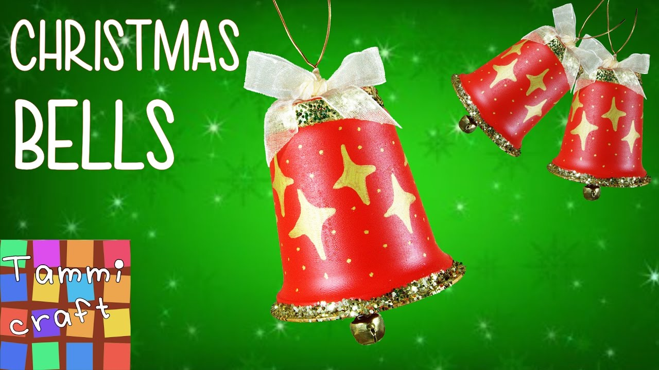 diy stylish christmas tree bell decorations