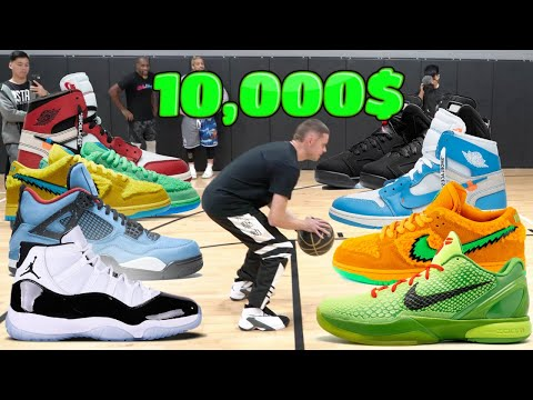 Played HORSE for 10,000$ in ? SNEAKERS with AirDeezy and Mdubduce