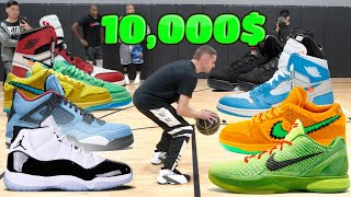 Played HORSE for 10,000$ in 🔥 SNEAKERS w/ Pro Hoopers
