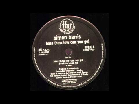simon harris   BASS how low can you go    bomb the house mix