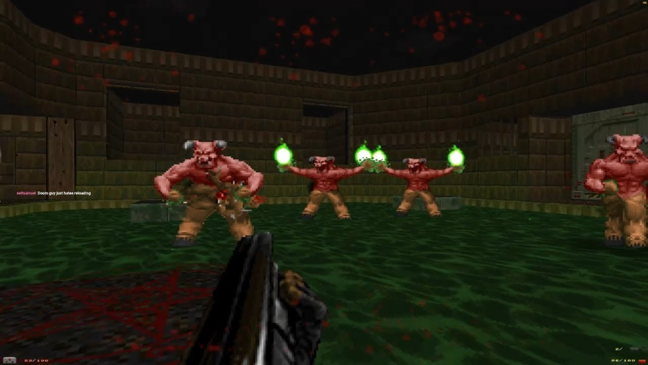 Lets Stream Brutal Doom Plutonia Chaingunner Youtube